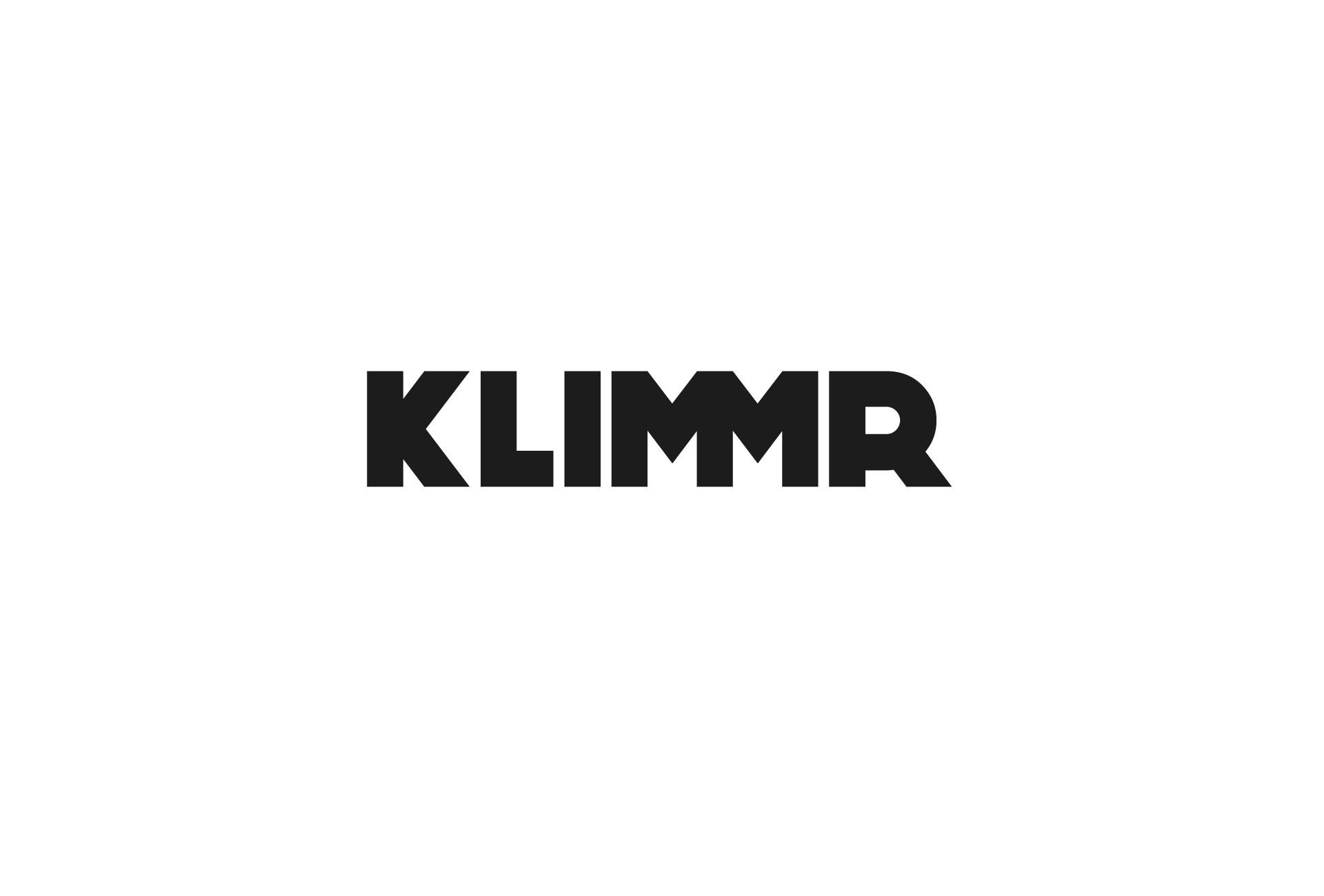 KLIMMR Huisstijl logo zwart